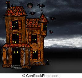 hus, halloween