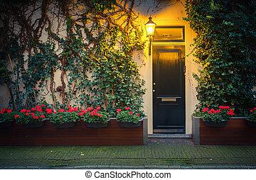 hus, ind, amsterdam