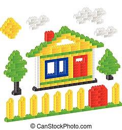 hus, konstruktör
