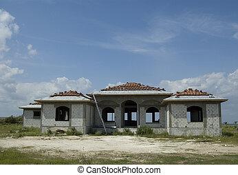 Hus, konstruktion, lyxvara,  under