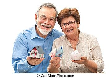 hus, par, nasse, holdingen, senior, modell, bank