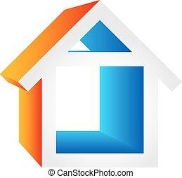 hus, symbol