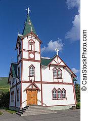 Husavik church