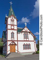 husavik, iglesia