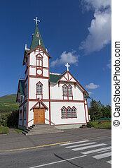 husavik, kirche