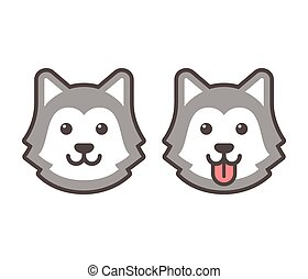 husky illustrations and clipart 2 699 husky royalty free rh canstockphoto com husky clipart black and white husky clip flashlight