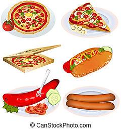 hustě food, vybírání, 2