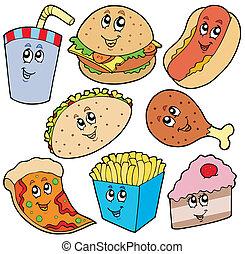 hustě food, vybírání