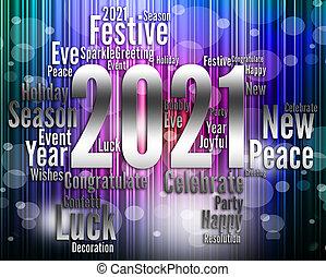 huszonegy, misét celebráló, 2021, új év, látszik