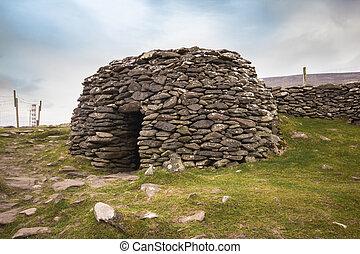 hut, ierland