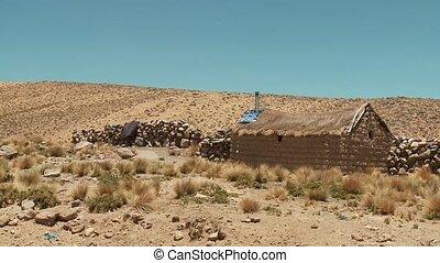Hut In Andes, Peru