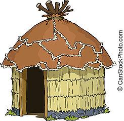 hut, inlander