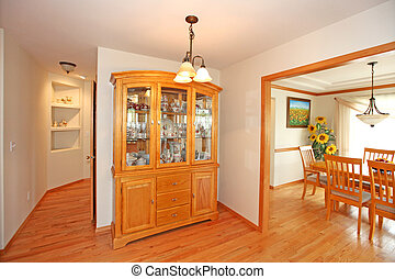 Hutch cabinet - Part of kitchen in a nice home for sale new ...