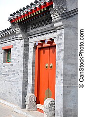 Hutong Door