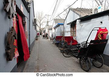 Hutong in Beijing China
