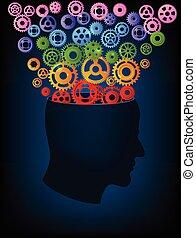 huvud, gearsfullcolor