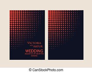 huwelijk uitnodiging, achtergrond