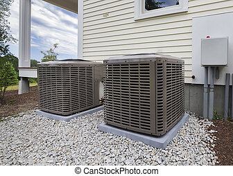 HVAC heating and air units