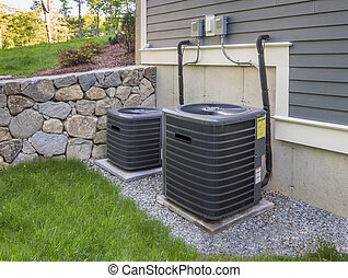 hvac units - Residential heating and air conditioner...