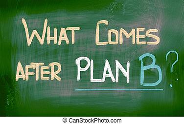 hvad, begreb, efter, b, plan, kommer