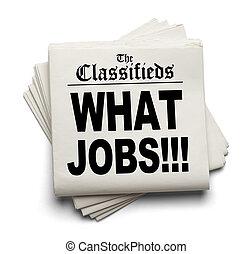 hvad, classifieds, arbejde