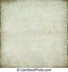 hvid, antik, avis, og, bamboo, flett, baggrund
