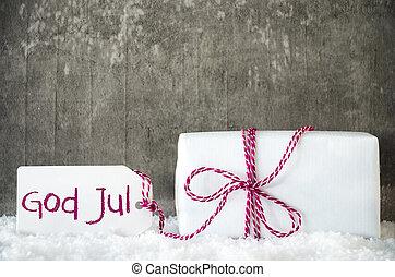 hvid, gave, sne, etikette, gud, jul, betyder, glædelig jul