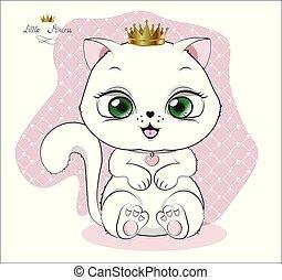 hvid, prinsesse, killingen