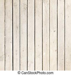 hvid, træ, planke, vektor, baggrund
