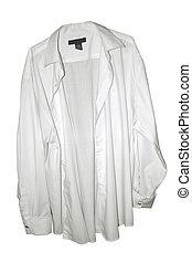 hvide klæd skjorte