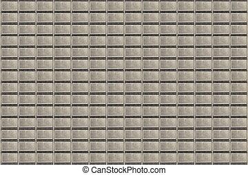 hvide mursten, mur, baggrund
