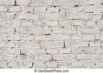 hvide mursten, mur