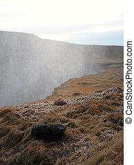 Hvita canyon, Iceland