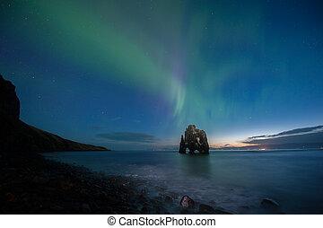 Hvitserkur on the Northern of Iceland