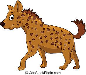 hyène, dessin animé