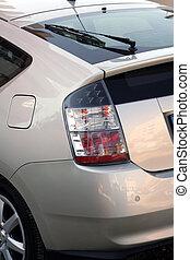 Hybrid car backside - Backside of a hybrid car