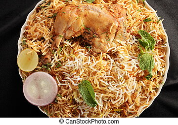 Hyderabadi Biryani - A Popular Chicken or Mutton based ...