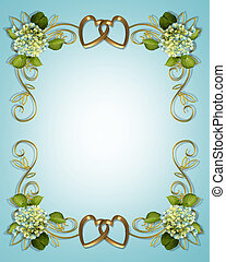 Hydrangea Floral Border