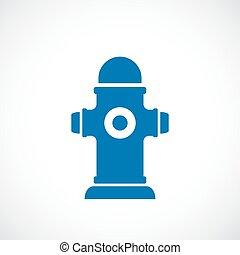 Hydrant vector icon