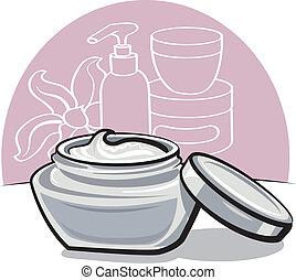 hydrater, crème
