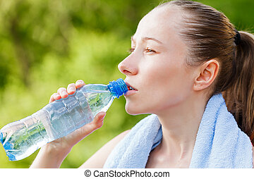 Do not forget to hydrate yourself during workout