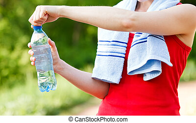 Hydration - Do not forget to hydrate yourself during workout