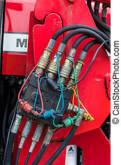 Hydraulic Hose Connections Box