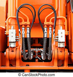 Hydraulic mechanisms and hoses