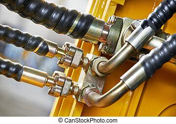 hydraulique, machinerie
