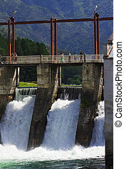 hydro-electric power station