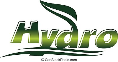 Hydro Pops Letter Emblem