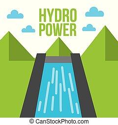 hydro power dam water energy ecology
