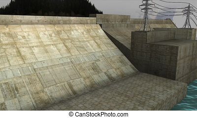 Hydro power plant - Hydroelectricity is the term referring...