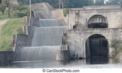 Hydroelectric Power Station in Vizzola Ticino, Lombardy,...